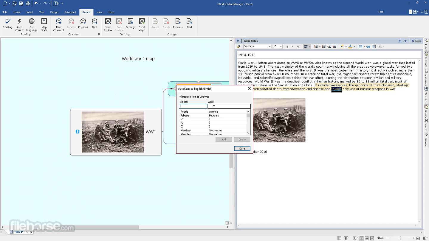 Mindjet MindManager 2021 21.0.261 Screenshot 3