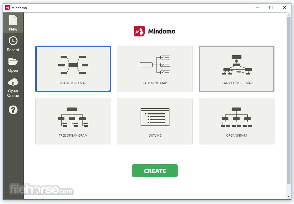 Mindomo Desktop 8.0.31 (64-bit) Screenshot 1