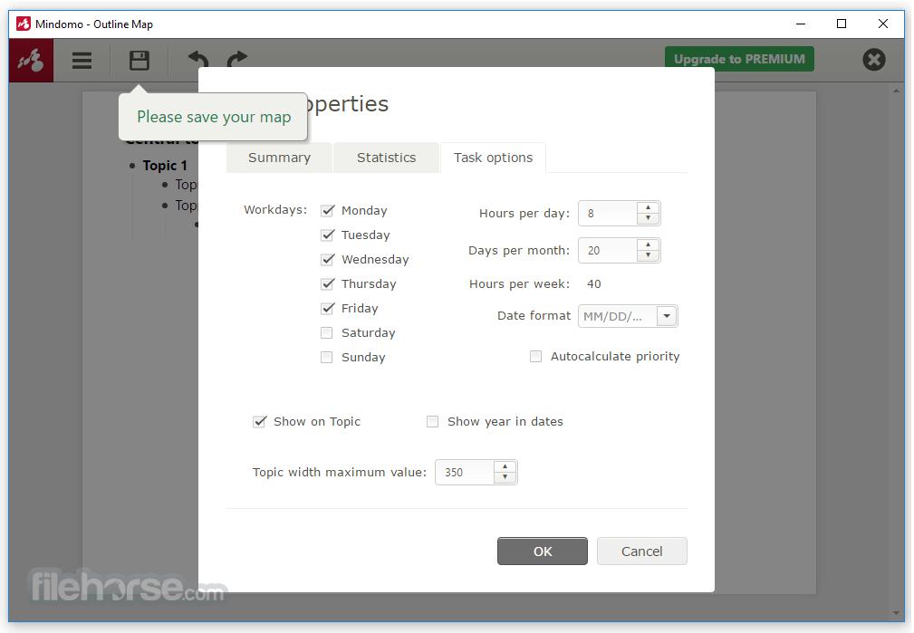 Mindomo Desktop 8.0.31 (64-bit) Screenshot 5
