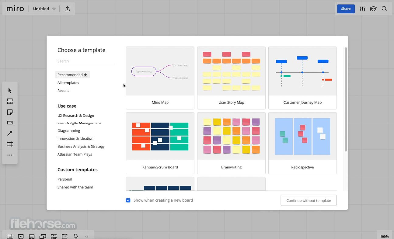 Miro Mind Map 0.0.32.0 (32-bit) Screenshot 2
