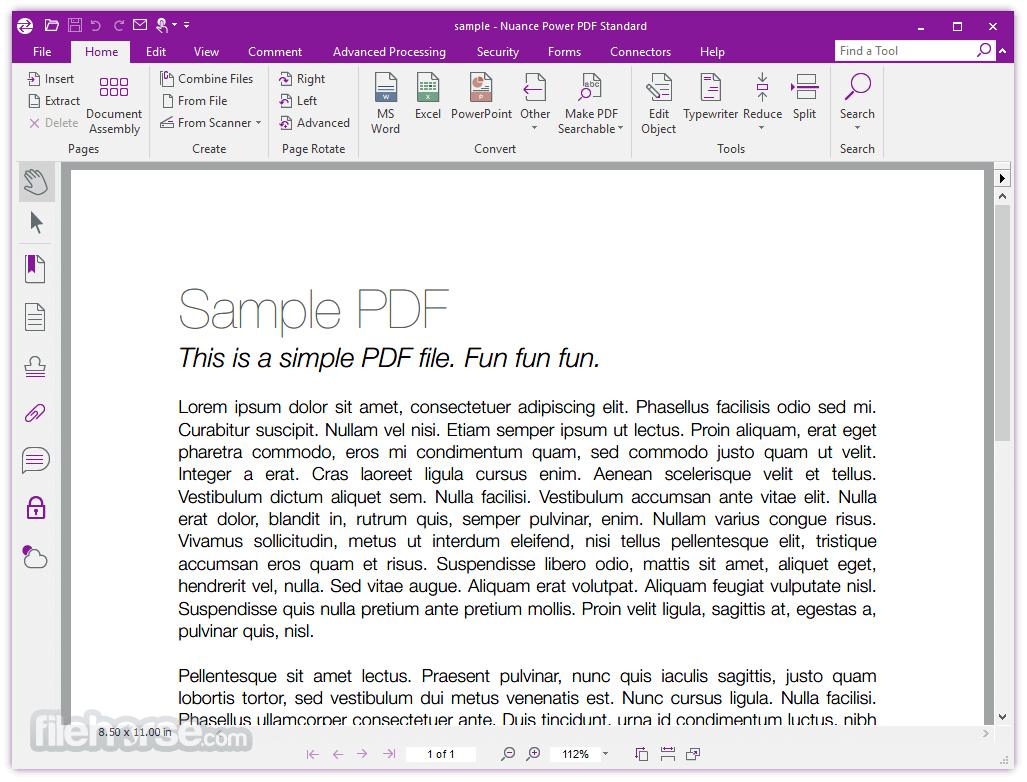 Nuance Power PDF Standard 2.10 Screenshot 1