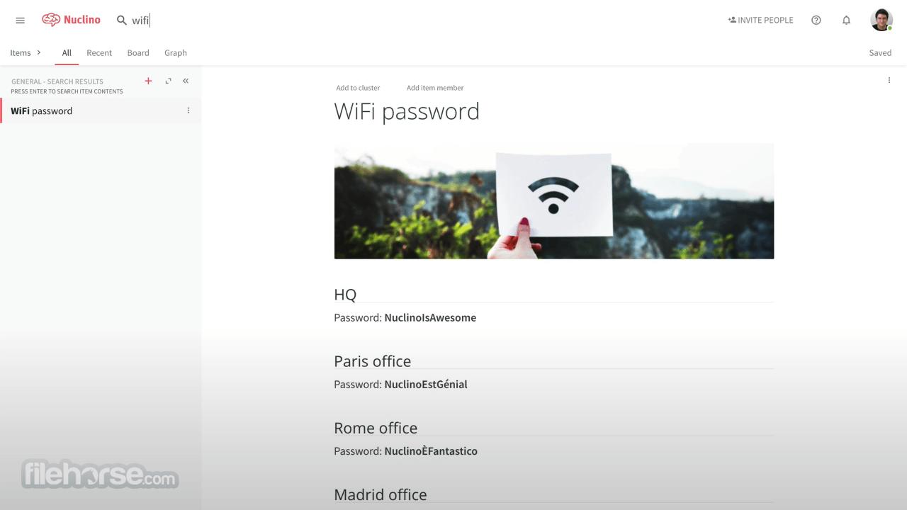 Nuclino 1.5.0 Screenshot 2