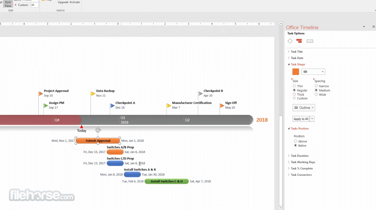 Office Timeline 4.06.01 Screenshot 3