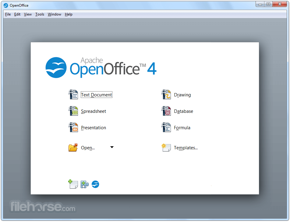 Download the latest version of OpenOffice free in English