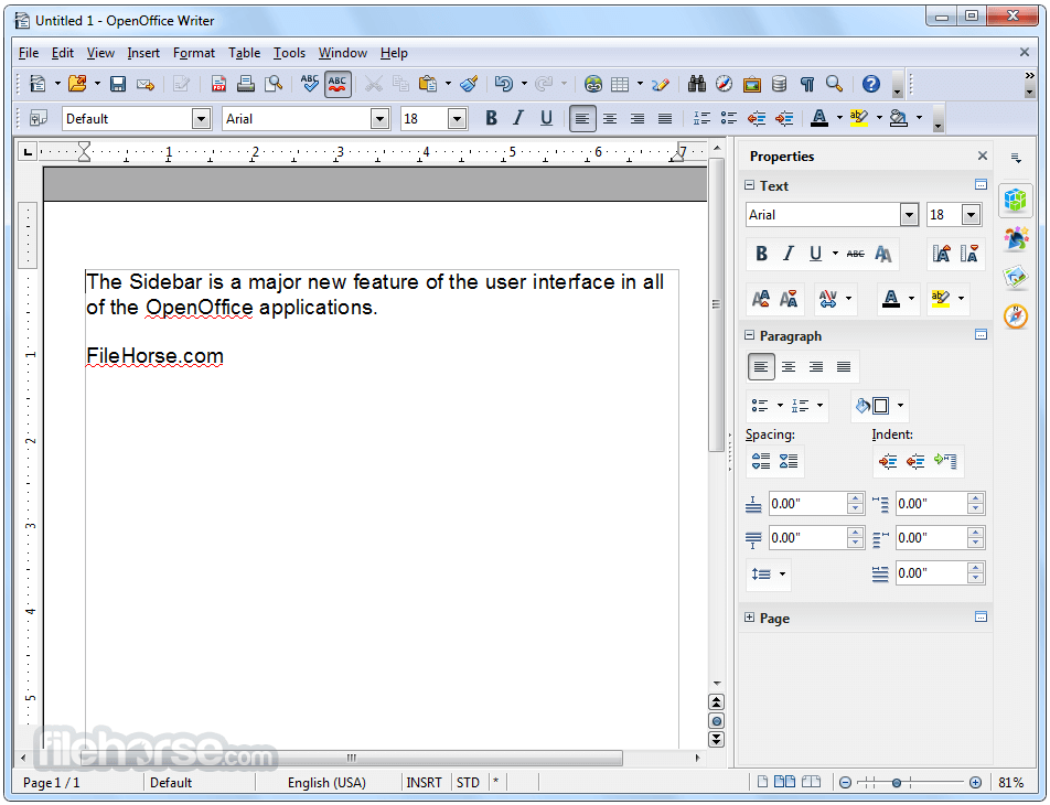 Apache openoffice 4 1 5 download for windows screenshots - Open office free download for windows 8 ...