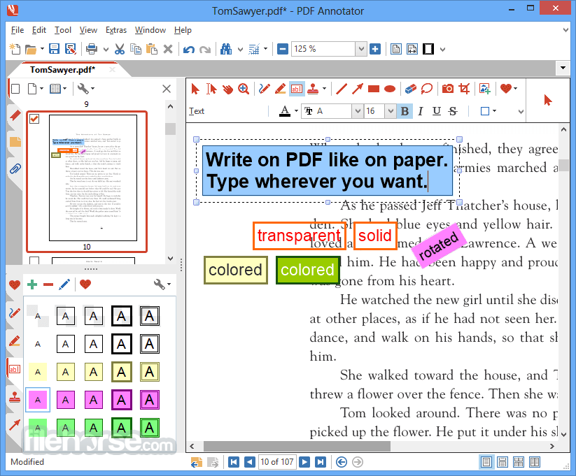 PDF Annotator 8.0.0.826 Screenshot 1