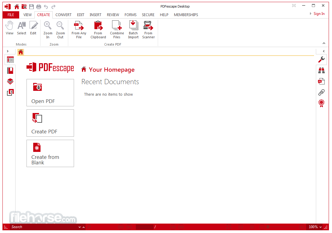 PDFescape Desktop 2.0.35 Screenshot 3