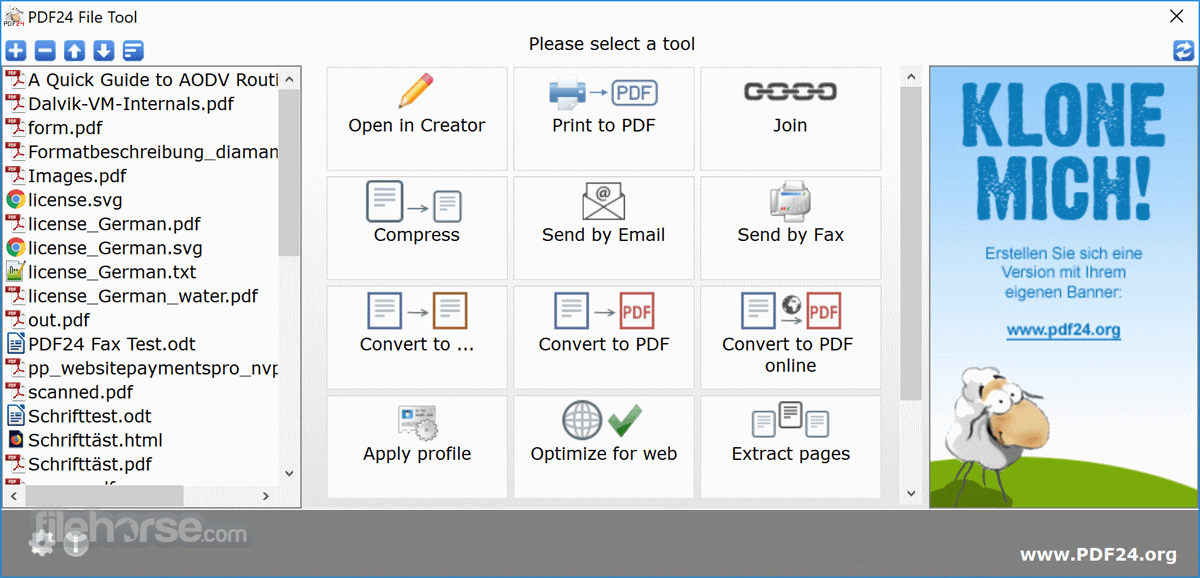 PDF24 Creator Download (2019 Latest) for Windows 10, 8, 7