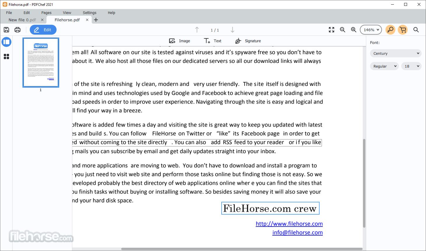 Movavi PDFChef 21.4 Screenshot 3