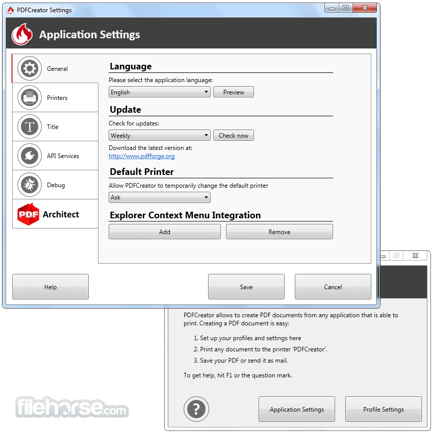 PDFCreator 3.2.2 Screenshot 3