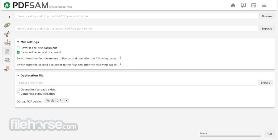 PDFsam Basic 3.3.5 Screenshot 3