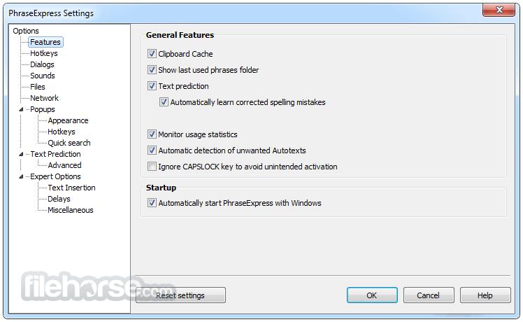 PhraseExpress 13.0.70d Screenshot 5