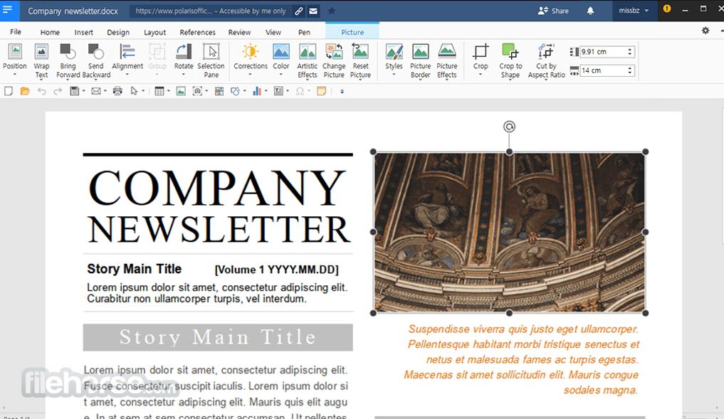 Polaris Office 8.1.480.25426 Screenshot 1