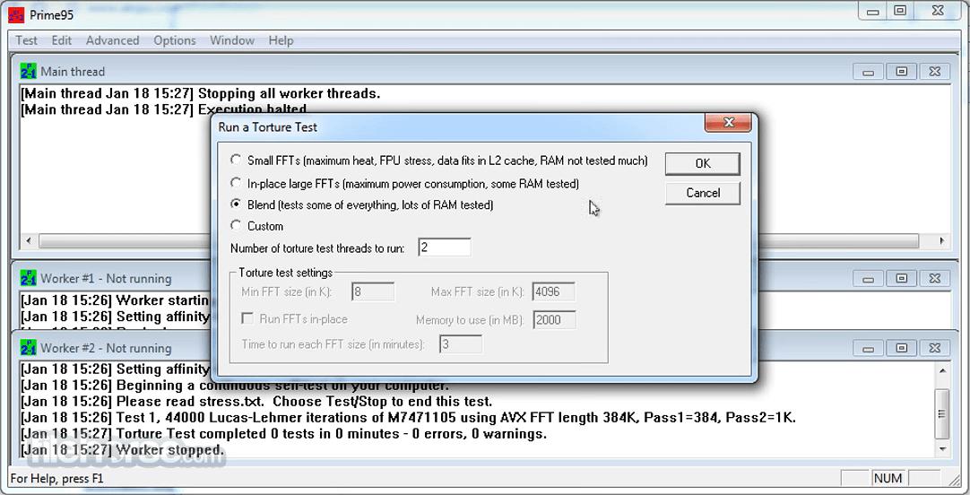 Prime95 (32-bit) Download (2020 Latest) for Windows 10, 8, 7