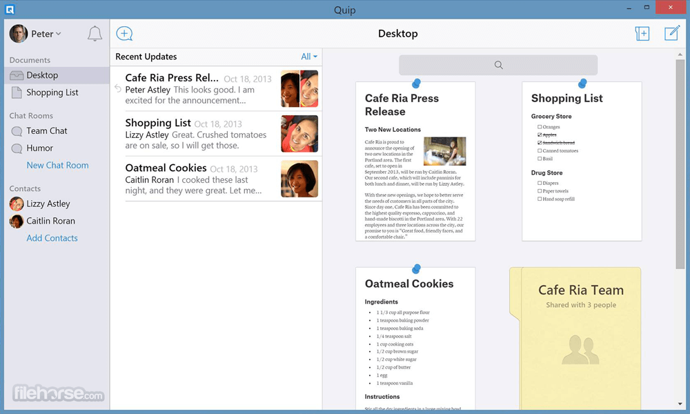 Quip for Desktop 5.3.10.0 Screenshot 1