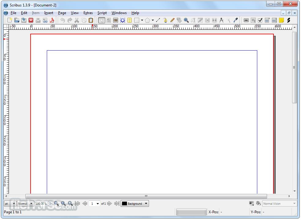 Scribus 1.4.7 (64-bit) Screenshot 1