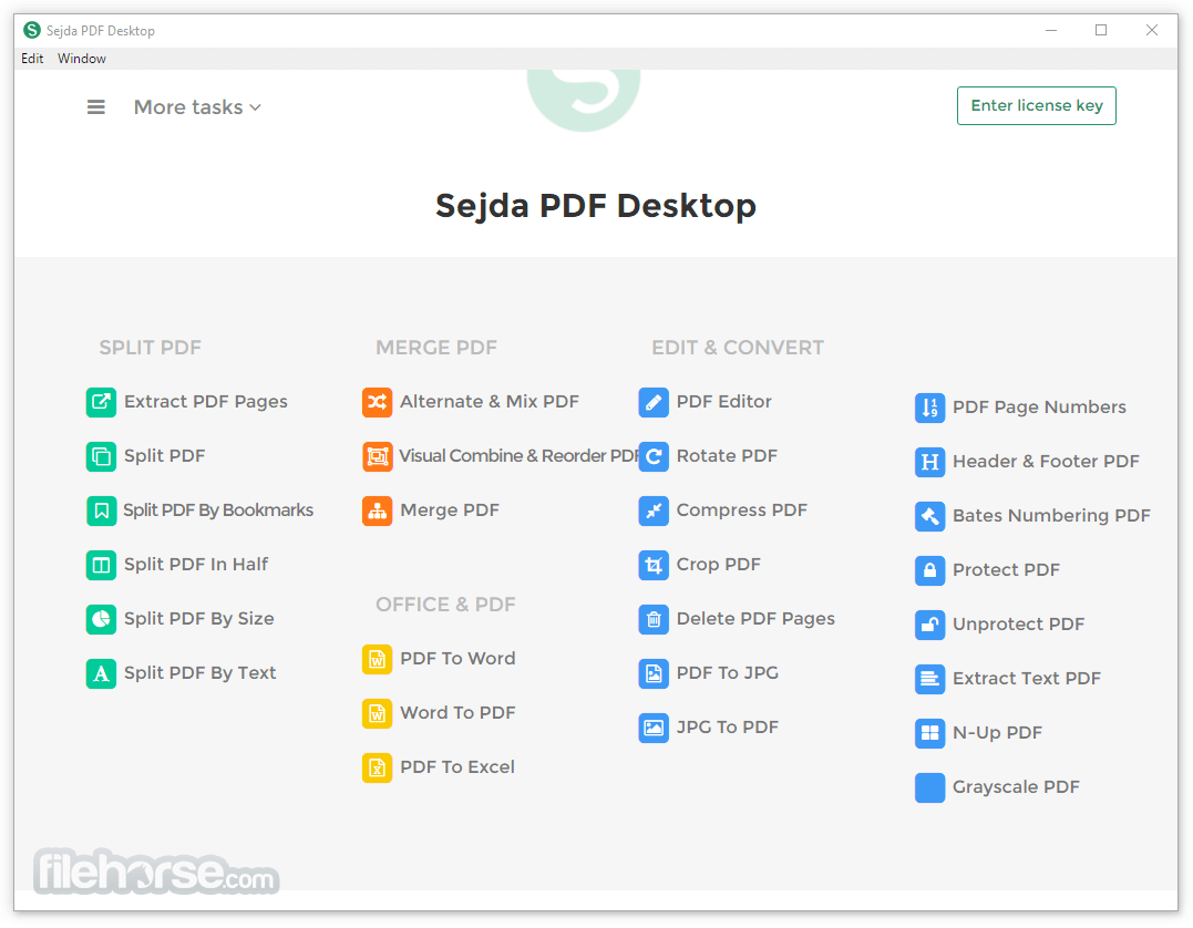 Sejda PDF Desktop 3.3.3 (32-bit) Screenshot 1