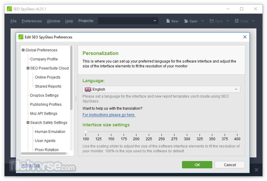 SEO SpyGlass 6.53.10 Screenshot 3