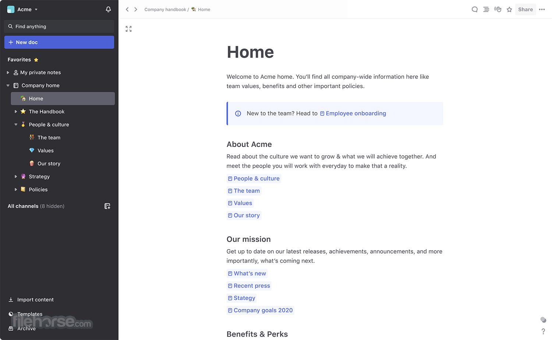 Slite 1.2.8 Screenshot 1
