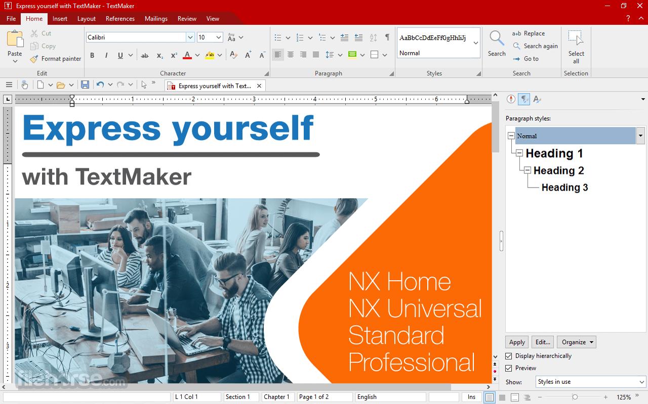 SoftMaker Office 2021 Rev 21.0.5114 (32-bit) Captura de Pantalla 1
