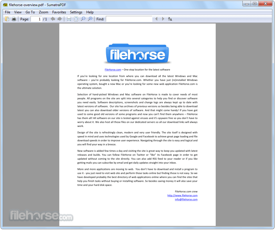 Sumatra PDF 3.1.2 (32-bit) Screenshot 2
