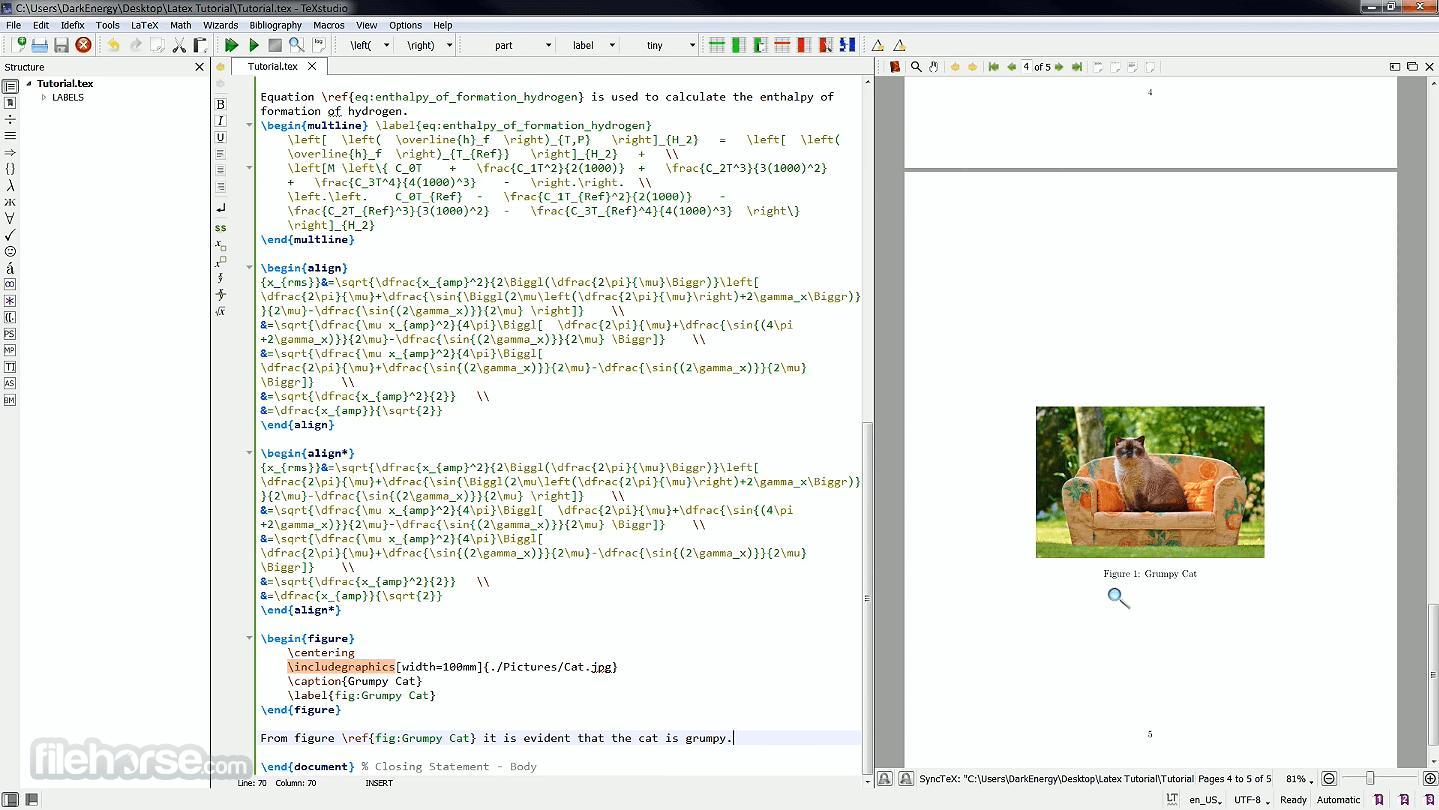 TeXstudio 3.1.2 Captura de Pantalla 5