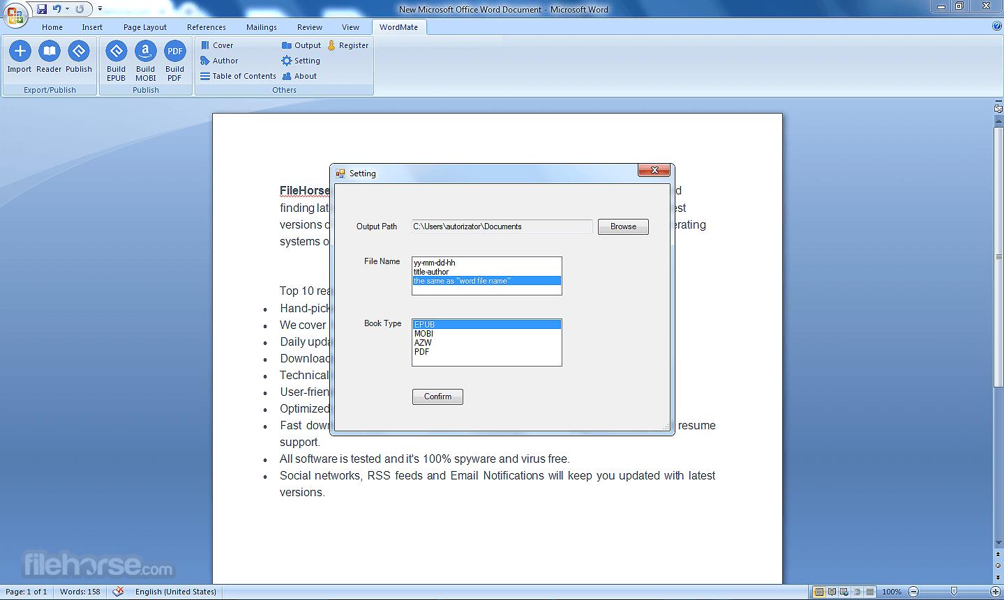 WordMate 1.0.1.48 Screenshot 3