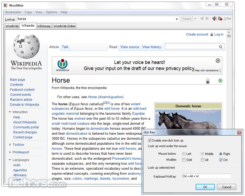 WordWeb 8.1 Screenshot 2