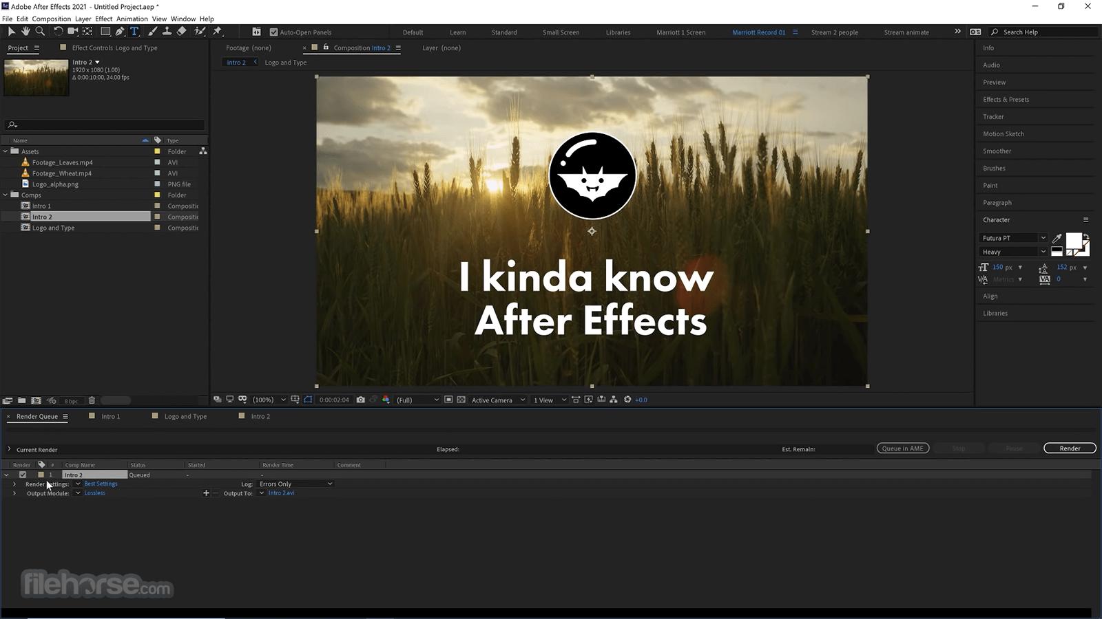 Adobe After Effects CC 2021 18.4.1 Screenshot 5