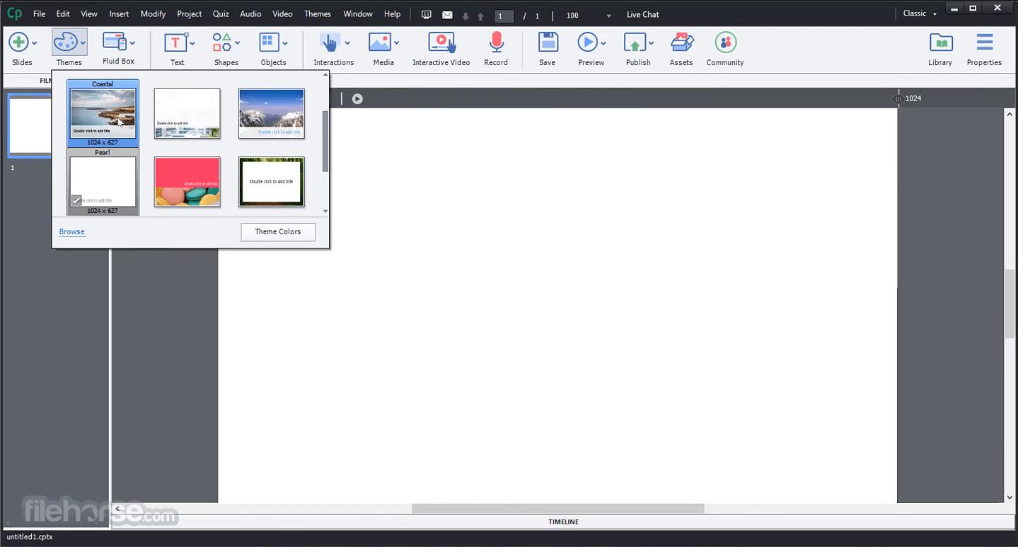 Adobe Captivate 2019 11.5.5.553 Screenshot 2