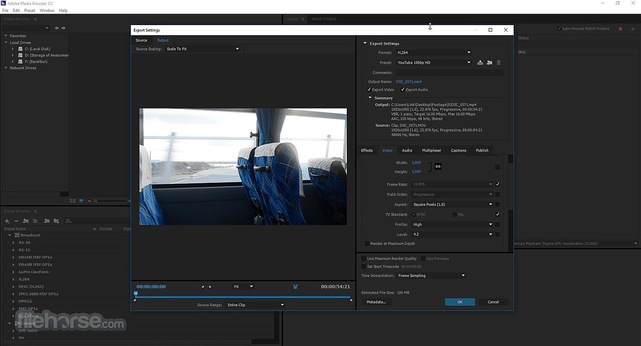 Adobe Media Encoder Download (2019 Latest) for Windows 10, 8, 7