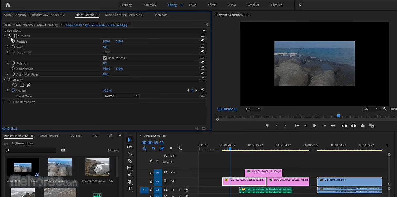 adobe premiere pro video editing software full version