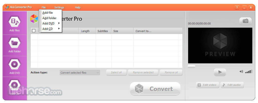 ALLConverter PRO 2.0 Screenshot 2
