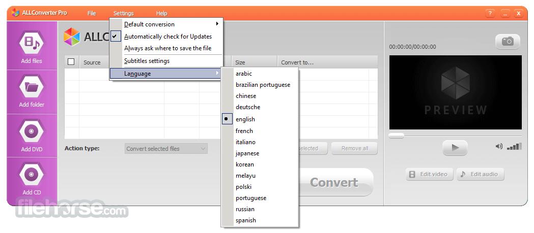 ALLConverter PRO 2.0 Screenshot 5