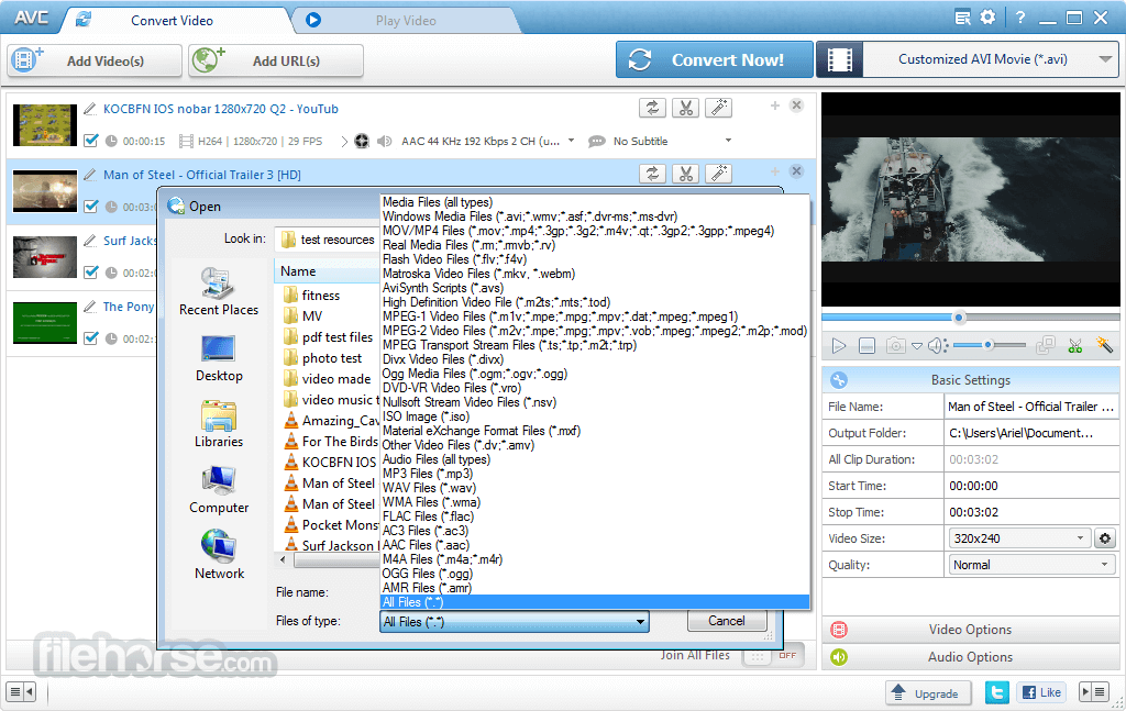 Any Video Converter 7.0.4 Screenshot 2