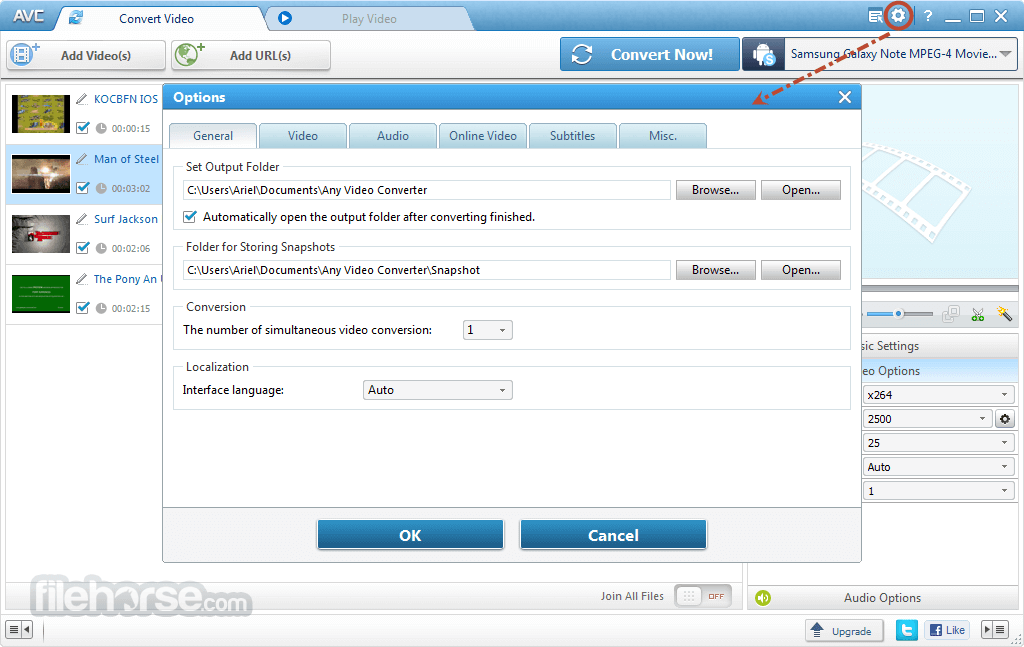 Any Video Converter 7.0.4 Screenshot 5