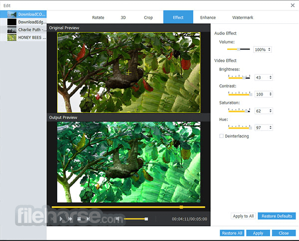 AnyMP4 Video Converter Ultimate 8.0.18 Screenshot 2