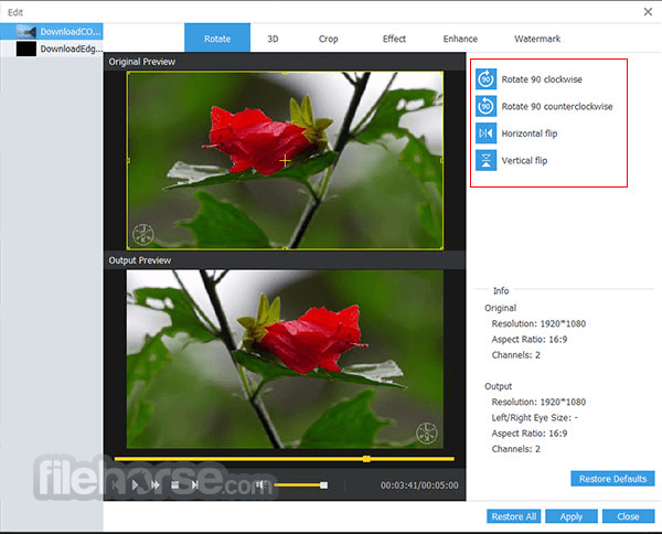 AnyMP4 Video Converter Ultimate 8.0.18 Screenshot 3