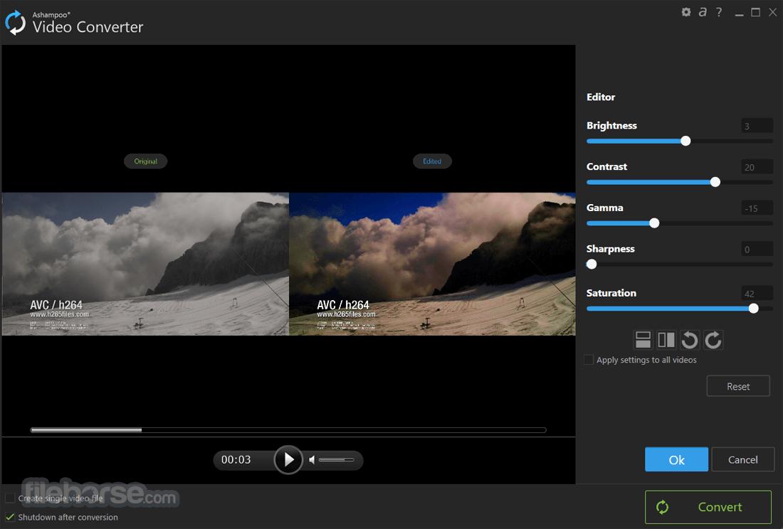 Ashampoo Video Converter 1.0.1 Screenshot 2