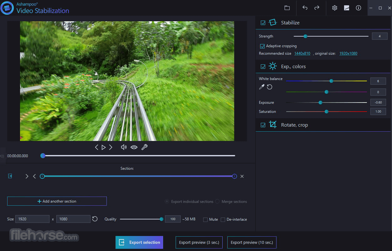 Ashampoo Video Stabilization Download (2019 Latest) for