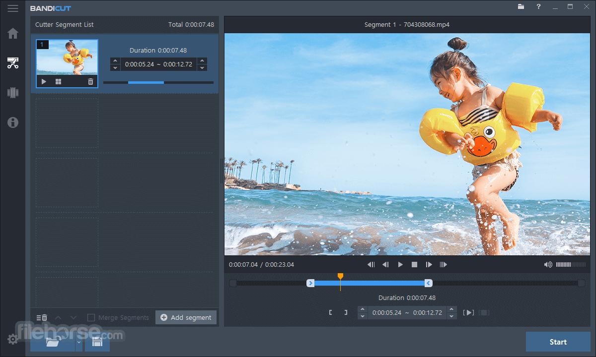 Bandicut Video Cutter 3.6.3.652 Screenshot 2