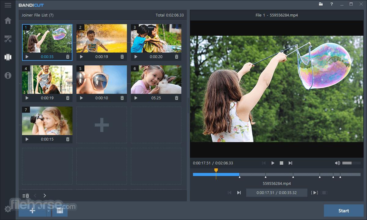 Bandicut Video Cutter 3.6.3.652 Screenshot 3