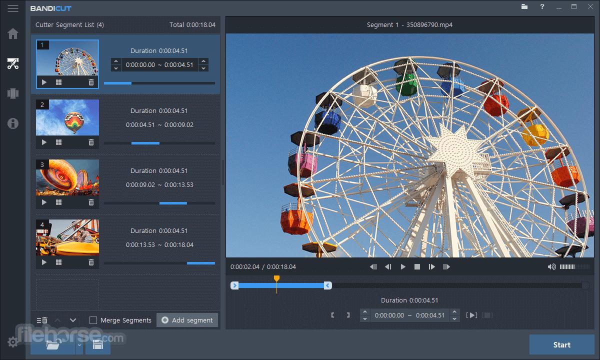 Bandicut Video Cutter 3.6.3.652 Screenshot 5