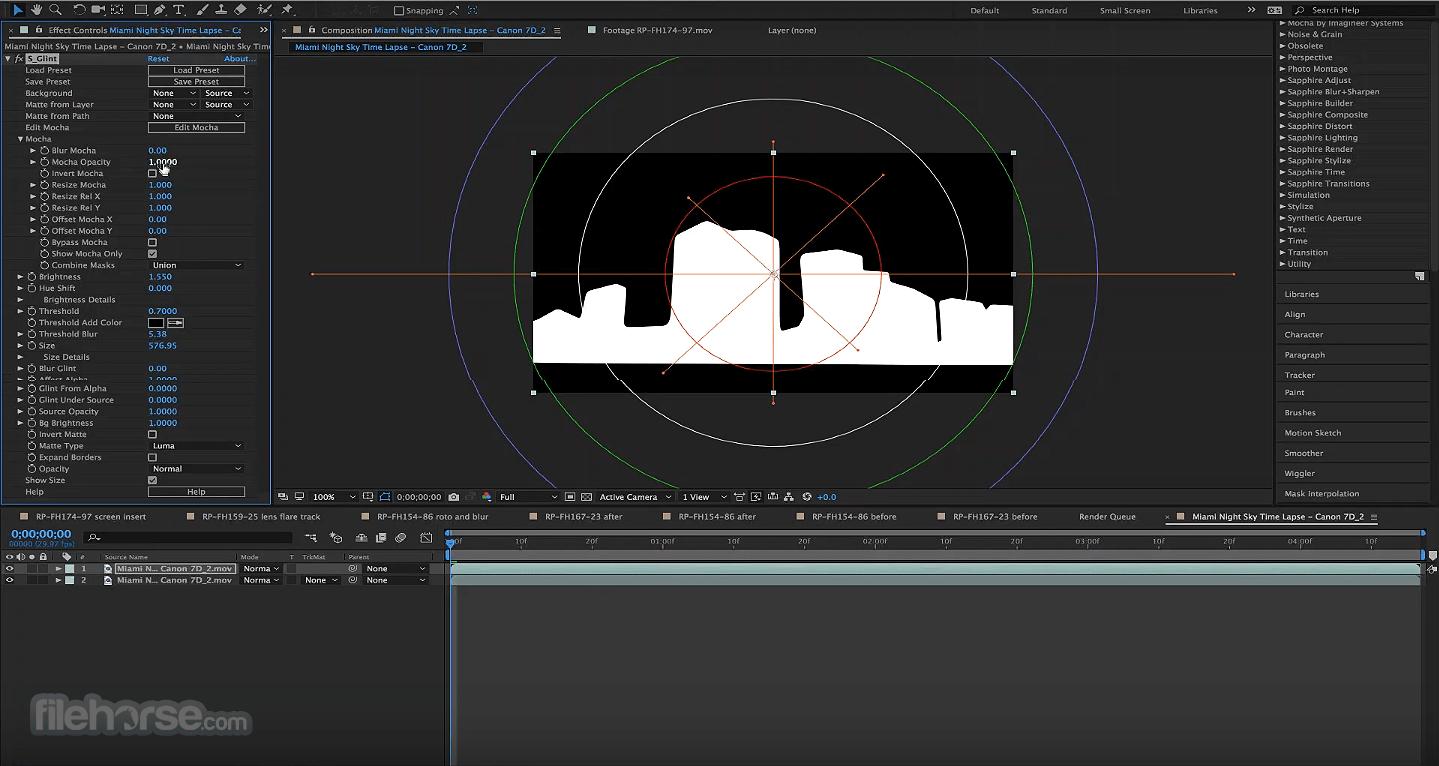 Boris FX Sapphire 13.02 (Adobe) Screenshot 1
