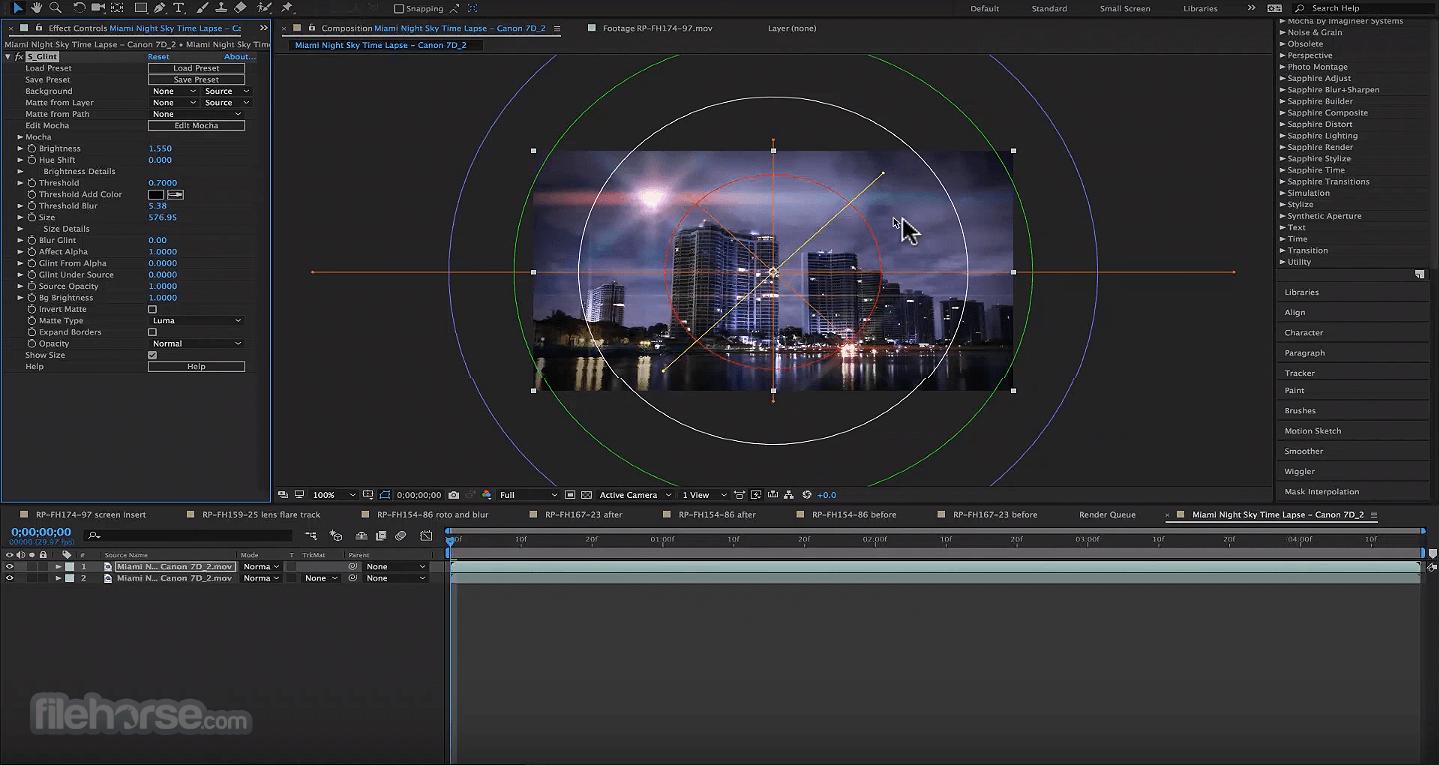 Boris FX Sapphire 13.02 (Adobe) Screenshot 2