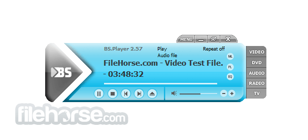 BS.Player 2.72 Build 1082 Captura de Pantalla 1