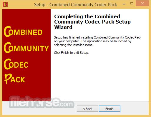 Combined Community Codec Pack 2015-10-18 (64-bit) Captura de Pantalla 5