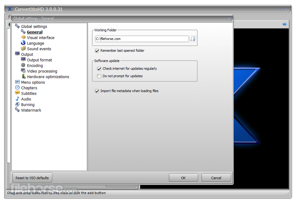 ConvertXtoHD 3.0.0.52 Captura de Pantalla 2