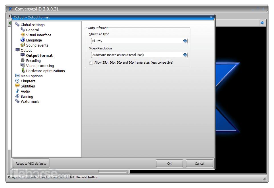 ConvertXtoHD 3.0.0.52 Captura de Pantalla 3
