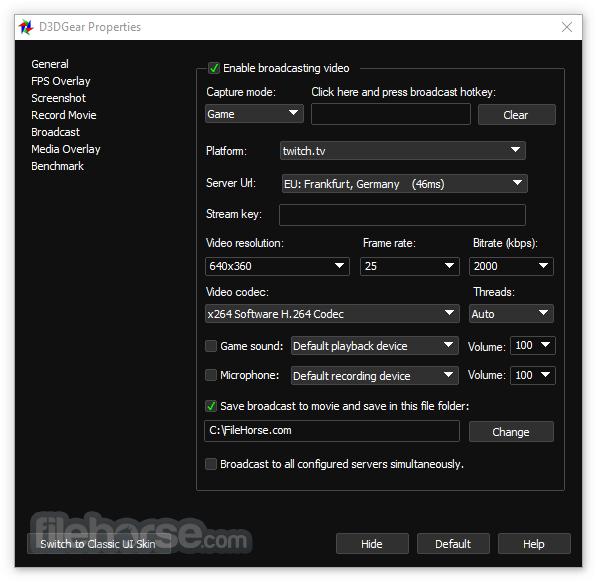 D3DGear 5.00 Build 2187 Screenshot 5